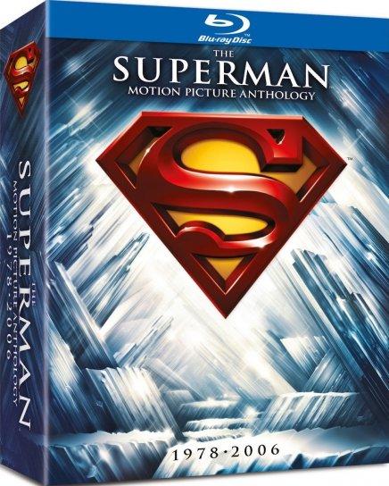 Superman en Blu-ray : le coffret Anthologie