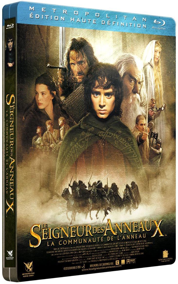 Couleurs variées double coupon gamme complète d'articles Tout sur les Blu-ray de la trilogie Le Seigneur des Anneaux ...