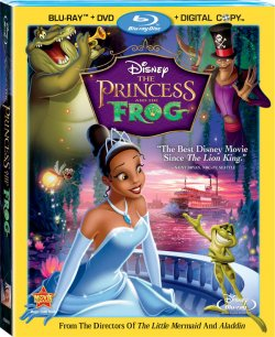 The Princess and the Frog - Combo Pack