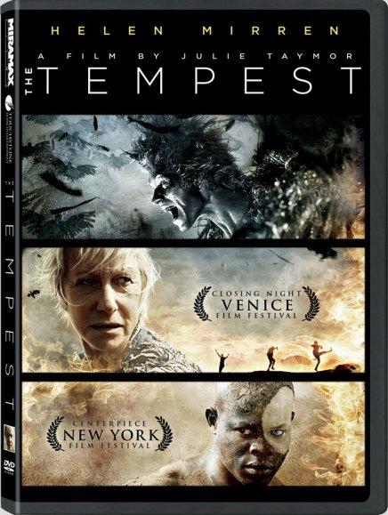 Tout sur les DVD et Blu-ray américains de The Tempest de Julie Taymor