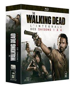 The Walking Dead saison 1 à 4 - DVD