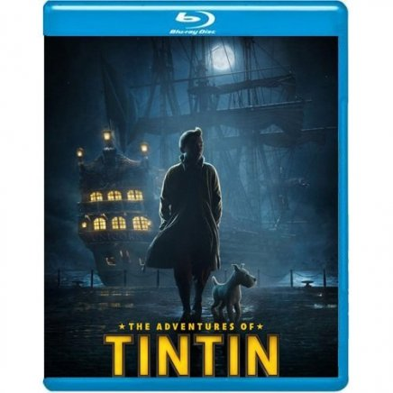 Tintin le secret de la Licorne en Blu Ray