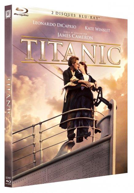 Titanic de James Cameron en Blu Ray