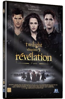 Twilight Chapitre 5 : Révélation Partie 2 - DVD