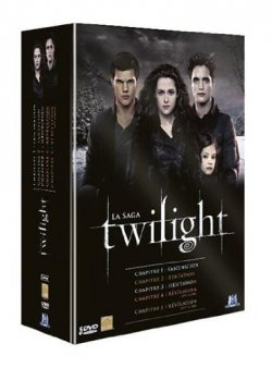 Twilight, La saga en DVD