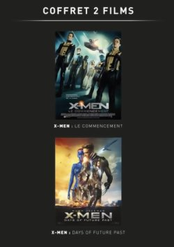 X-Men Days of Future Past + X-Men Le Commencement - DVD