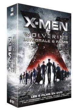 X-Men et Wolverine : Intégrale DVD