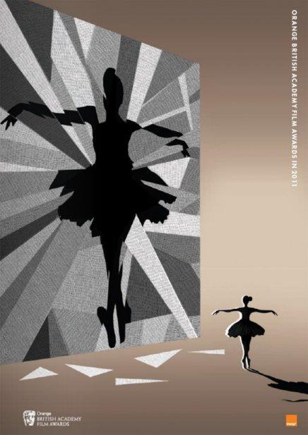 Les affiches des BAFTA pour Black Swan, True Grit et Inception
