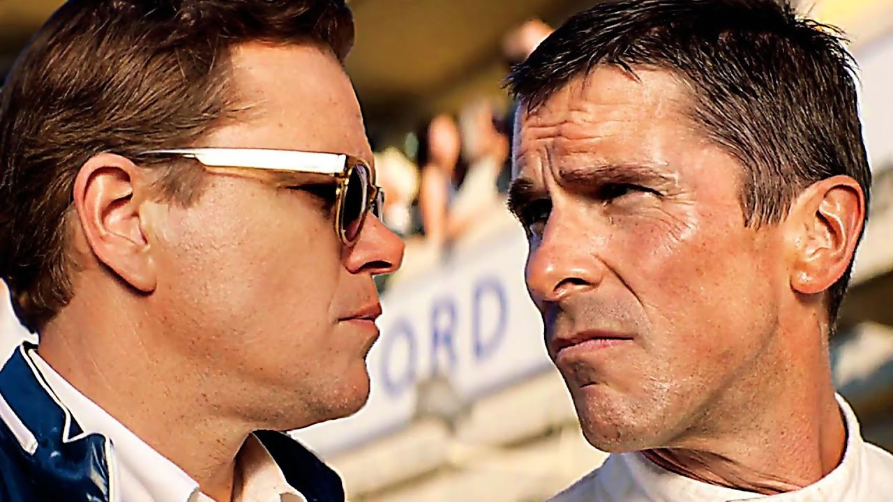 Ford contre Ferrari: un trailer avec Matt Damon et Christian Bale