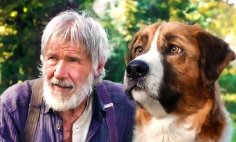 Harrison Ford et Omar Sy avec le créateur de Dragons pour l'Appel de la Forêt