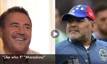 "José Garcia : ""On m'a pris pour Diego Maradona"""