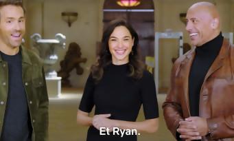 Netflix en 2021 : Dwayne Johnson, Gal Gadot, Ryan Reynolds, Leo DiCaprio, JCVD, Jason Momoa... la bande-annonce folle