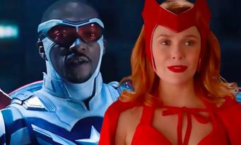 Anthony Mackie déjà de retour en Captain America avec Wanda Maximoff et Loki
