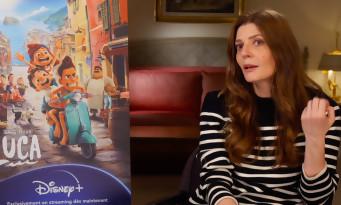 """Chiara Mastroianni : """"Dès qu'il y a des monstres, cela me touche"""" Luca interview"""