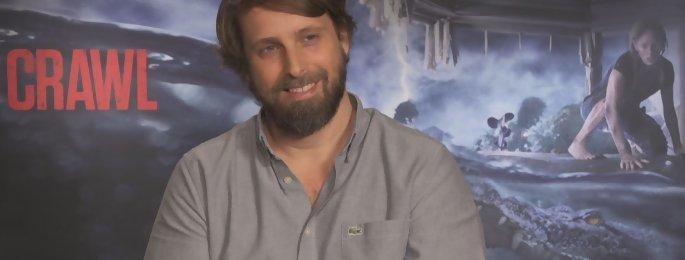 """Crawl : """"Je voulais revenir à un cinéma de pure terreur"""" Alexandre Aja interview"""