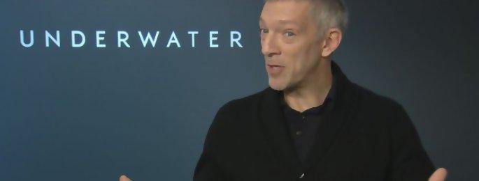 """Underwater : 'Irréversible est le film d'horreur ultime"""" Vincent Cassel interview"""