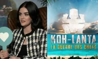 """Lucy Hale : """"Après Nightmare Island, je veux faire Koh-Lanta et je vais gagner !"""""""