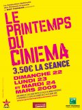 Printemps du Cinéma 2009
