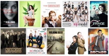 Les meilleures séries 2011