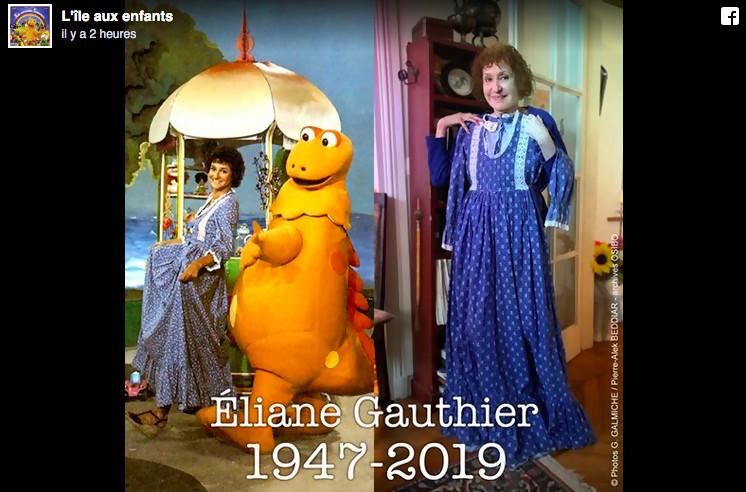 Éliane Gauthier(Julie) est morte à l'âge de 72 ans —