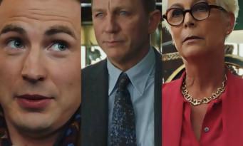 A Couteaux Tirés : Daniel Craig, Chris Evans, Jamie Lee Curtis dans un thriller fou (trailer)