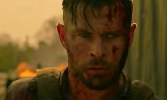Tyler Rake : Chris Hemsworth traqué dans un trailer badass. Produit par les real d'Avengers