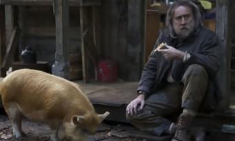 Pig : Nicolas Cage prêt à faire un massacre pour récupérer son cochon ! (bande-annonce)