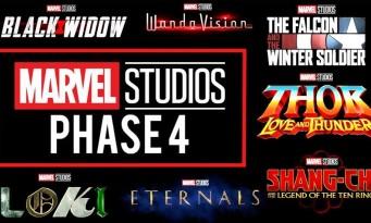La liste des Marvel attendus en 2020-2021 (Black Widow, Thor 4, Blade...)
