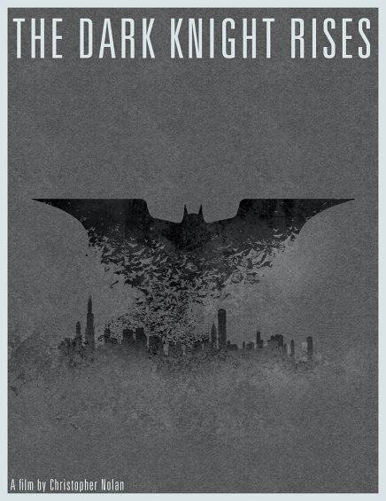 Batman The Dark Knight Rises : affiches
