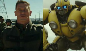 John Cena affronte BUMBLEBEE dans le spin-off TRANSFORMERS (extrait)