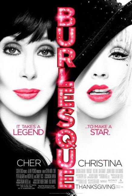 Vidéo : bande-annonce de Burlesque avec Christina Aguilera et Cher