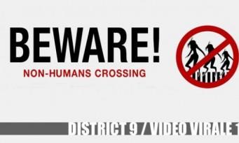 Teaser District 9 - Vidéo virale