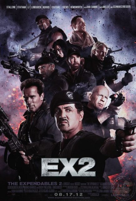Expendables 2 Bande annonce