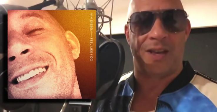 """Vin Diesel sort son premier single dance. Ecoutez """"Feel Like I Do"""""""