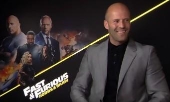 Jason Statham balance sur Vin Diesel en pleine interview pour Hobbs and Shaw