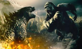 Godzilla vs Kong : un très court extrait avec un King Kong monstrueux !