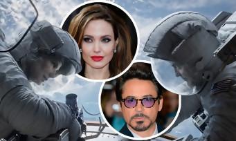 Pourquoi Angelina Jolie et Robert Downey Jr ont laissé tomber Gravity ?