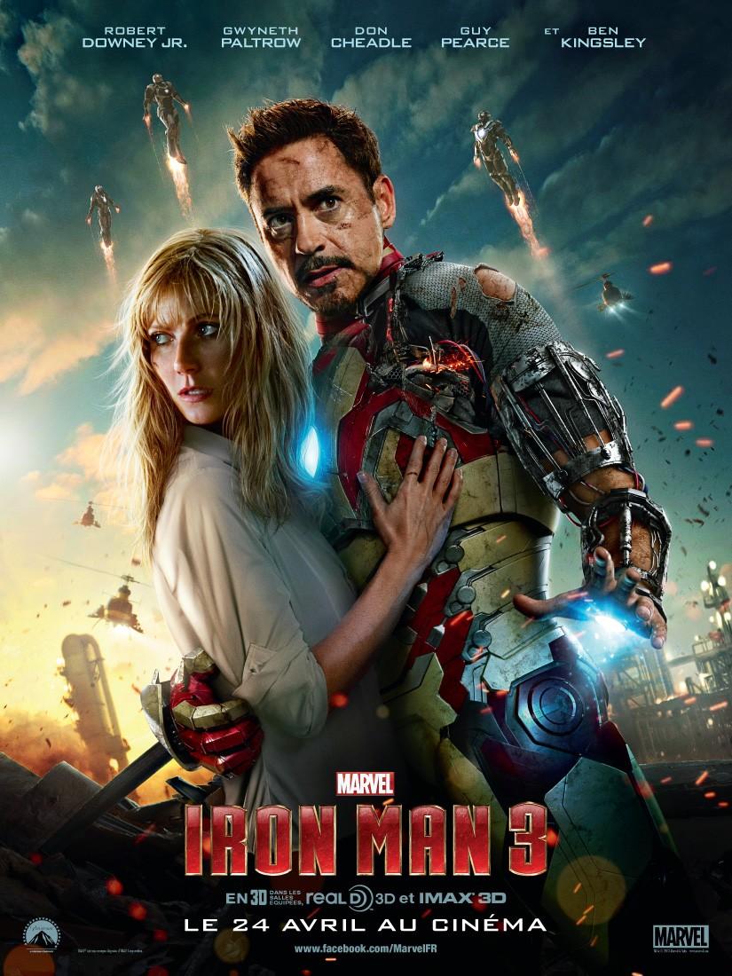 Affiche et Photos Iron Man 3 (2013)