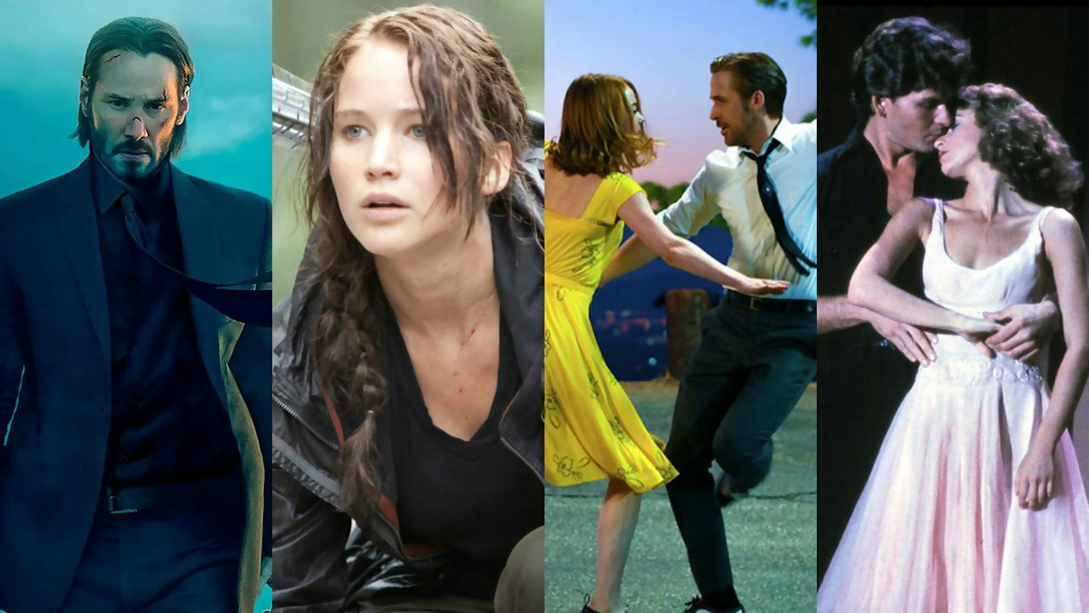 John Wick, Hunger Games, Dirty Dancing en streaming gratuit sur YouTube