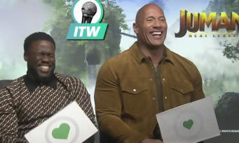 Jumanji Next Level : quand Kevin Hart fout la honte à Dwayne Johnson en promo !