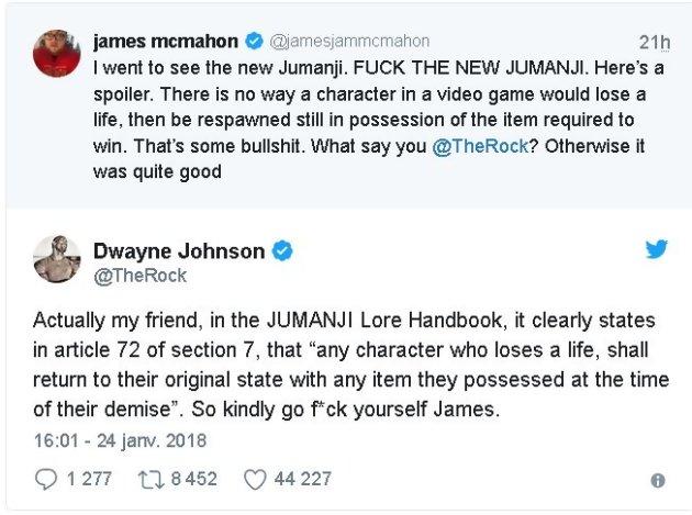 Jumanji (reboot 2016)