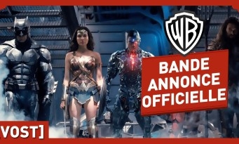 JUSTICE LEAGUE : une bande-annonce explosive pour Batman, Aquaman, Flash...