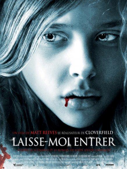 Laisse-moi entrer : première affiche française