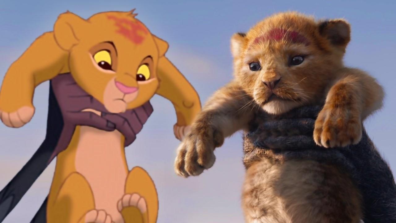 Le Roi Lion : la version de 1994 comparée à celle de 2019