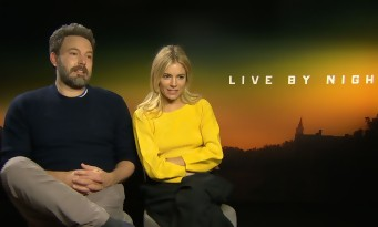 Ben Affleck et Sienna Miller en interview pour Live By Night