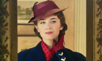 Emily Blunt descend du ciel pour LE RETOUR DE MARY POPPINS - bande annonce