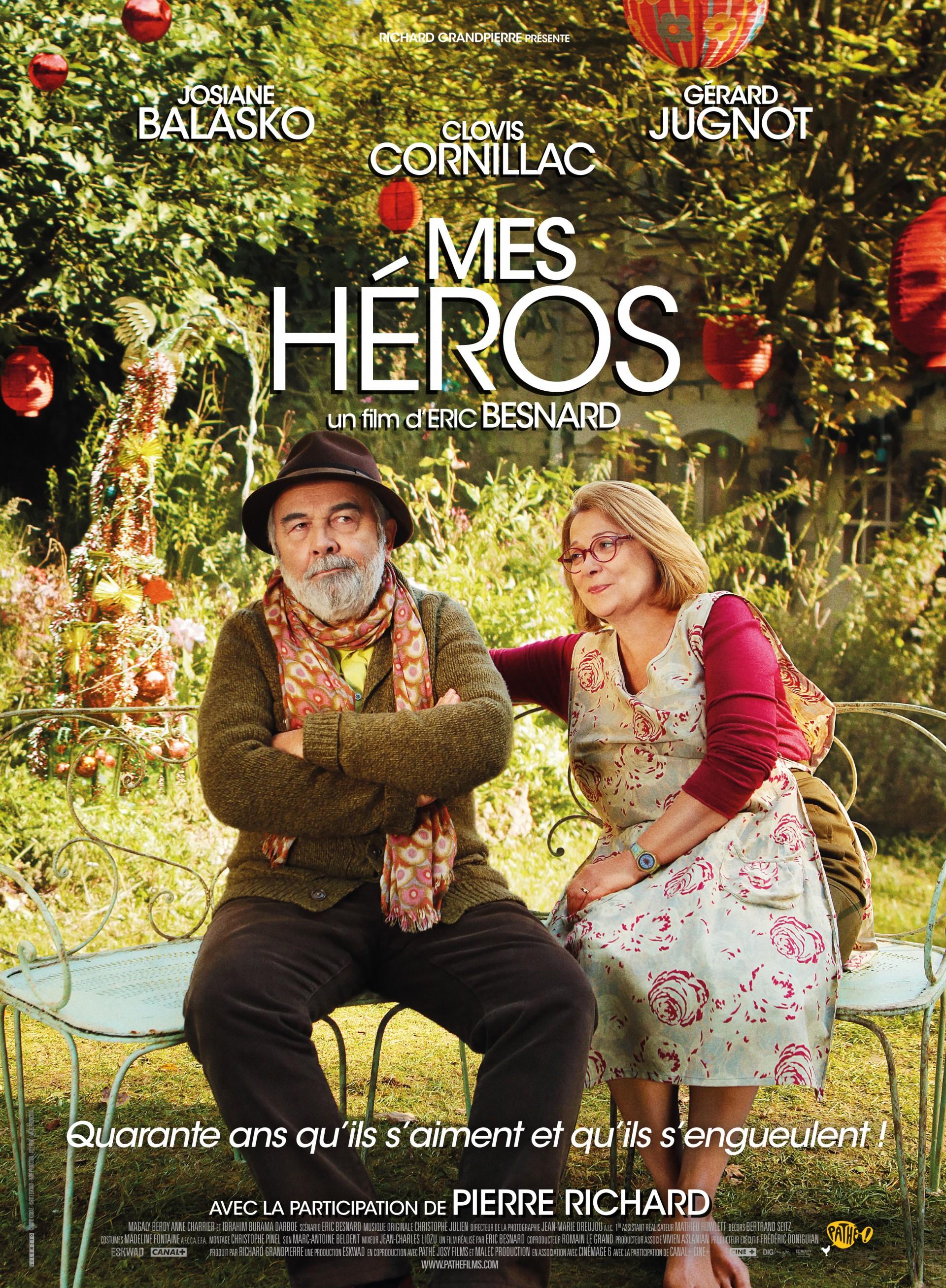 Affiche et Photos Mes Héros (2012)