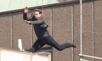 TOM CRUISE se blesse sur le tournage de MISSION IMPOSSIBLE 6 (vidéo)