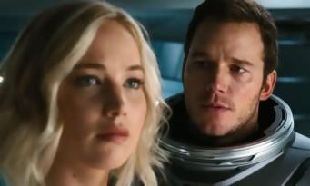 PASSENGERS - nouvelle bande-annonce SF pour Jennifer Lawrence et Chris Pratt !