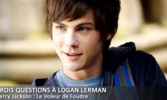 Interview Trois Questions à Logan Lerman